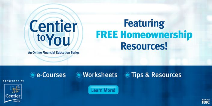 Centier To You Homeownership E-Course
